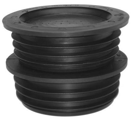 Gummiadapter Manschette 123-130 / 102 doppelt, CRA 10008