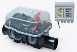 Rückstausicherung für fäkalienhaltiges Abwasser, Einbau in Abwasserleitung