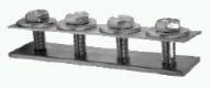 Schienenverbinder aus Stahl verzinkt