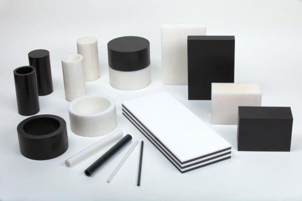 Kunststoffplatten aus POM natur, Breite 1.000 mm