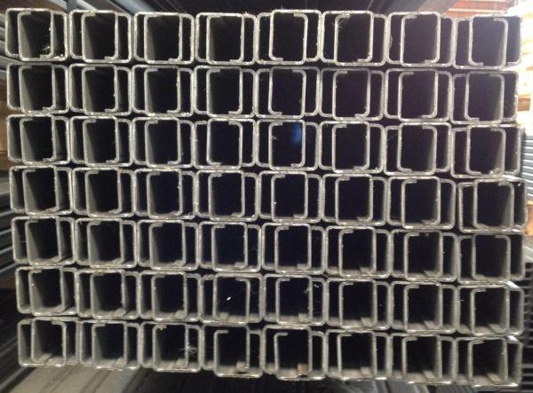 Edelstahl-Stahlprofile | C 7 / 12 / 28 / 12 / 7 x 2,0 mm