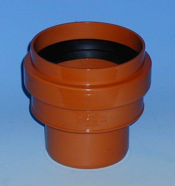 Anschlußstück an Steinzeugrohr, mit Dichtring (KGUS)