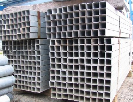 Vierkantrohre   verzinkt   50 x 50 x 2,0 mm