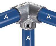 Eckverbinder 90° aus Stahl für z. B. Paddocks gut geeignet