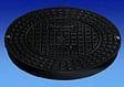 Schachtabdeckung DN 300 aus Kunststoff A / 15