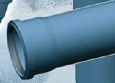 Abwasserrohr mit Steckmuffe DN 125 (HTEM/S)