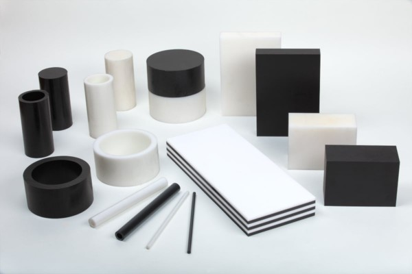 Rundstab PA6 schwarz 1 m lang Kunststoffhalbzeug Polyamid