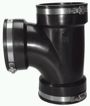 Abzweig flexibel 106-119 mm (T-Stück) CRA 15073 CRASSUS