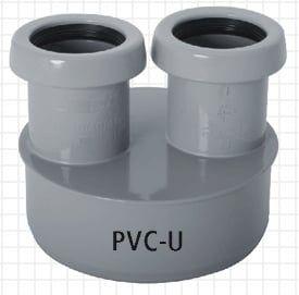 Abwasser-Reduzierstück aus PVC-U DN 100/40/40