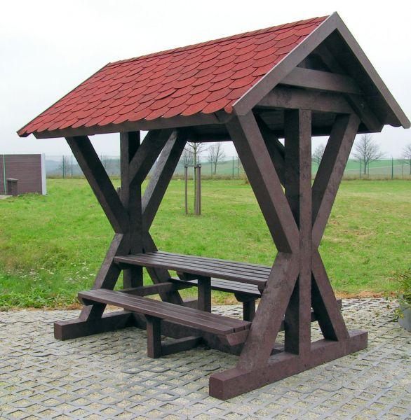 Schutzhütte für Wanderer